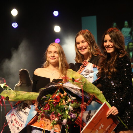 Emma Boertien won The Voice of Almelo.